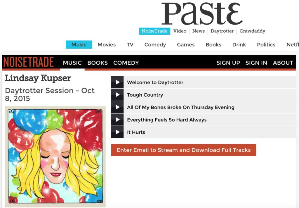 Feature on Daytrotter
