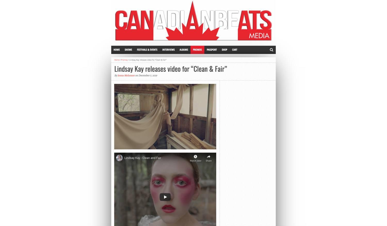 Canadian Beats (Dec. 2019)